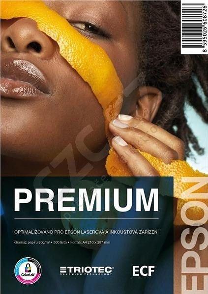 Epson papír Quality, 80g/m2, A4 (500 listů), ColorLok, Triotec
