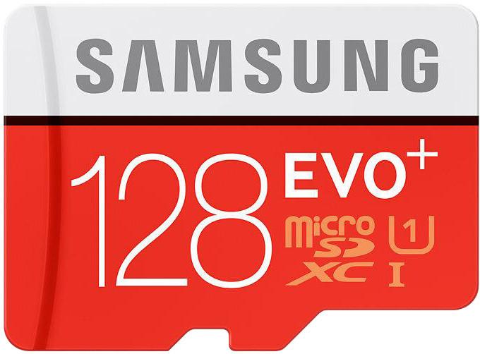 Samsung Micro SDXC EVO Plus 128GB + SD adaptér