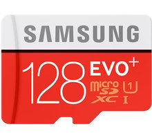Samsung Micro SDXC EVO Plus 128GB + SD adaptér - MB-MC128DA/EU