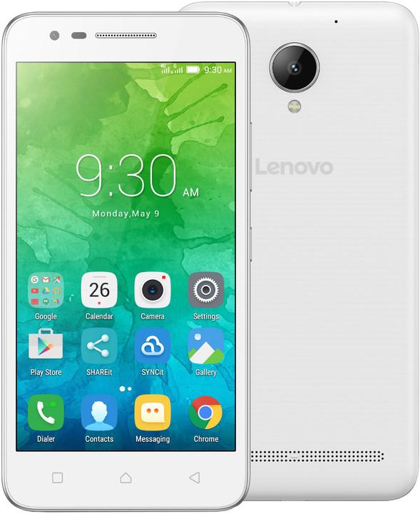 Lenovo C2 Power - 16GB, LTE, bílá