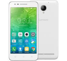 Lenovo C2 Power - 16GB, LTE, bílá - PA450139CZ