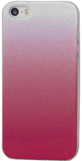 EPICO pouzdro pro iPhone 5/5S/SE GRADIENT - červený