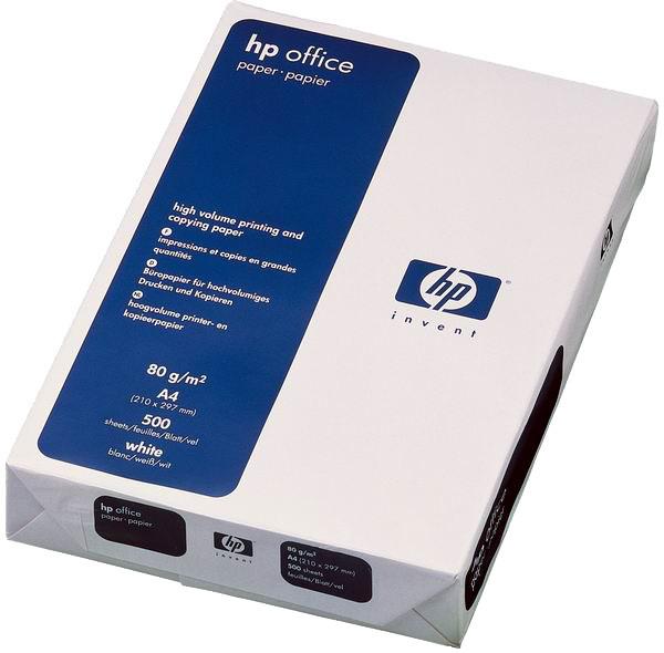 HP Office paper, 500ks, A4, 210 x 297 mm, 80 g/m2