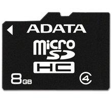 ADATA Micro SDHC 8GB Class 4 - AUSDH8GCL4-R