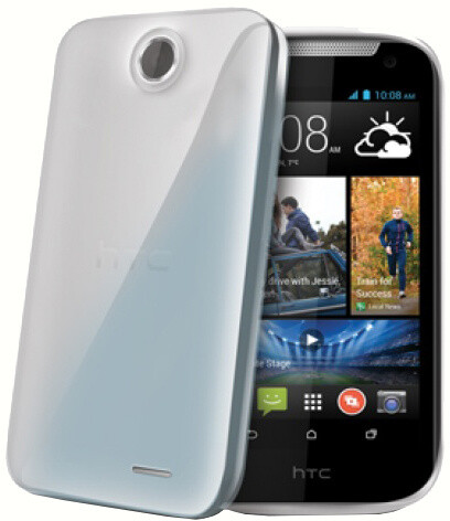 CELLY Gelskin pouzdro pro HTC Desire 310, bezbarvé
