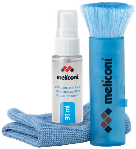 Meliconi C-35P Čisticí sprej 35 ml + utěrka z mikrovlákna + štěteček