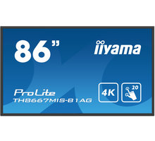 "iiyama ProLite TH8667MIS - LED monitor 86"" - TH8667MIS-B1AG"