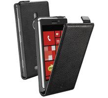 CellularLine Flap Essential pouzdro pro Nokia Lumia 925, černá - FLAPESSENL925BK
