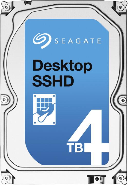 Seagate Desktop SSHD - 4TB