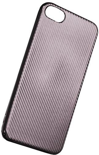 Forever silikonové (TPU) pouzdro pro Huawei P10, carbon/stříbrná
