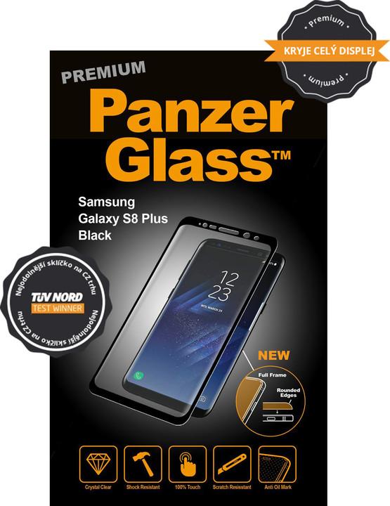 PanzerGlass PREMIUM ochranné sklo pro Samsung Galaxy S8 Plus - Černá