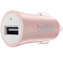 Belkin MIXIT autonabíječka, 5V, 2.4A, růžová - F8M730btC00
