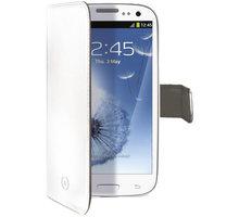CELLY Wally pro Samsung Galaxy S III/ S III Neo, PU kůže, bílá - WALLY232WH