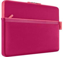"""Belkin Sleeve pouzdro pro Microsoft Surface s kapsou, 12"""", červeno-růžová - F7P352btC02"""
