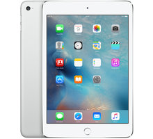 APPLE iPad Mini 4, 128GB, Wi-Fi, stříbrná - MK9P2FD/A