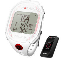 Polar RCX3 White G5 (MULTI), vč. interface DataLink - 322522