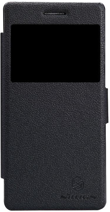 Nillkin Fresh S-View pouzdro pro Lenovo Vibe X2, černá