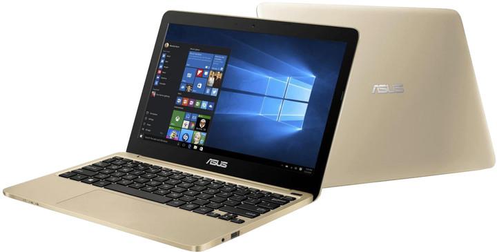 ASUS E200HA-FD0004TS, zlatá