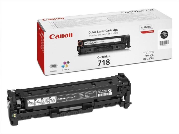 Canon CRG-718, černý