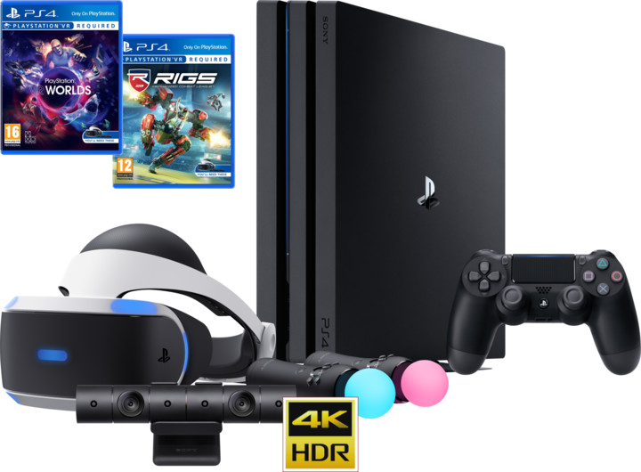 VR ULTIMATE SET - PS4 Pro, 1TB