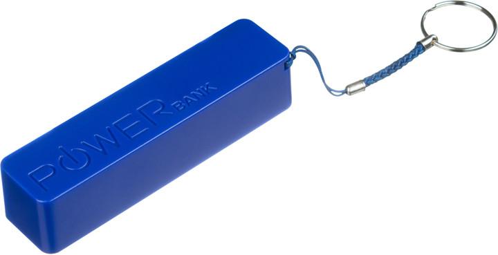 CONNECT IT COLORZ powerbank 2600 mAh, 1A, modrý