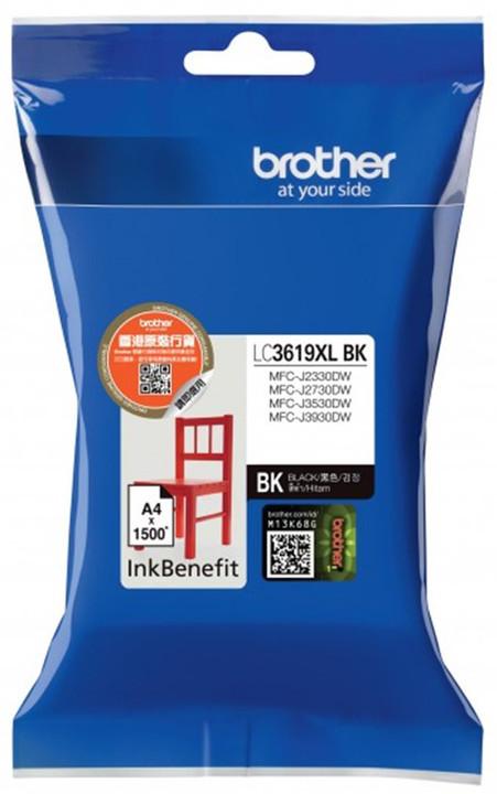 Brother LC3619XLBK, černý