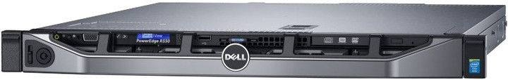 Dell PowerEdge R330 /E3-1230v5/16GB/4x 1TB SAS/2x 350W/Rack 1U