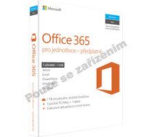 Microsoft Office 365 pro jednotlivce - pouze k PC - QQ2-00602