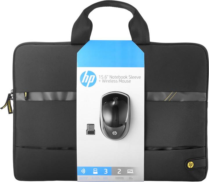 """HP Wireless Essentials Kit 15.6"""" + myš"""