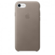 Apple iPhone 7 Leather Case, Taupe