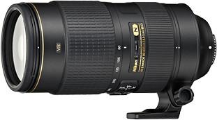 Nikkor 80-400 mm f4,5 - 5,6G AF-S VR ED