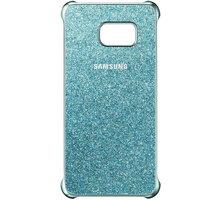 Samsung zadní kryt Glitter pro Samsung Galaxy S6 Edge+, modrá - EF-XG928CLEGWW