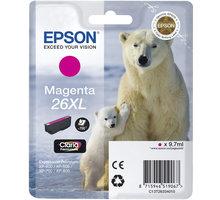 Epson C13T26334010, XL, magenta