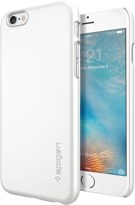 Spigen Thin Fit ochranný kryt pro iPhone 6/6s, white