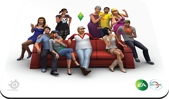 SteelSeries QcK Sims 4 Limited Edition