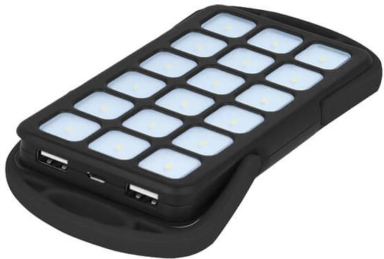 Forever TB-018 6 000 mAh, 18 LED panel