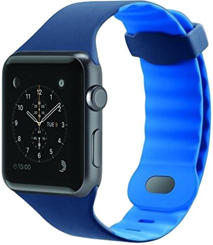 Belkin sportovní řemínek pro Apple watch (38mm) - námoř. modrá