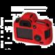 Easy Cover silikonový obal pro Canon 6D, červená