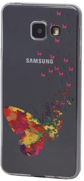 EPICO pružný plastový kryt pro Samsung Galaxy A3 (2016) SPRING BUTTERFLY