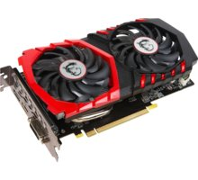 MSI GeForce GTX 1050 Ti GAMING, 4GB GDDR5 - GTX 1050 Ti GAMING X 4G