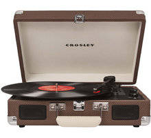 Crosley Cruiser Deluxe, tweed - CR8005D-TW4