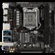 ASRock Z370M-ITX/AC - Intel Z370  + Přepěťová ochrana EATON Protection Strip 6 FR černá v ceně 289,- Kč