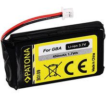 Patona baterie pro herní konzoli Nintendo GBA 450mAh Li-lon 3,7V - PT6510