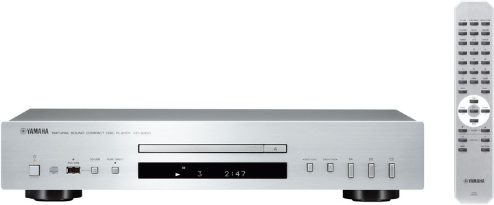 Yamaha CD-S300, stříbrná