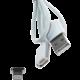 MyMAX magnetický kabel lightning – stříbrný