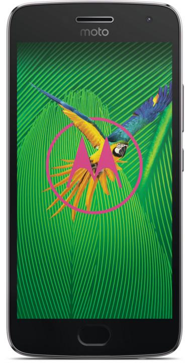 Lenovo Moto G5 Plus - 32GB, LTE, šedá