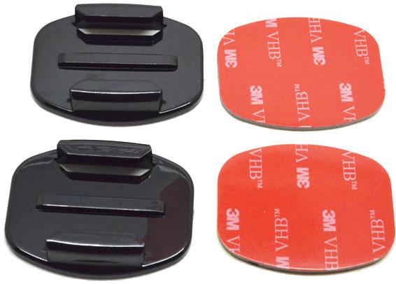 Niceboy 2 nalepovací držáky pro rovné plochy (s 3M)