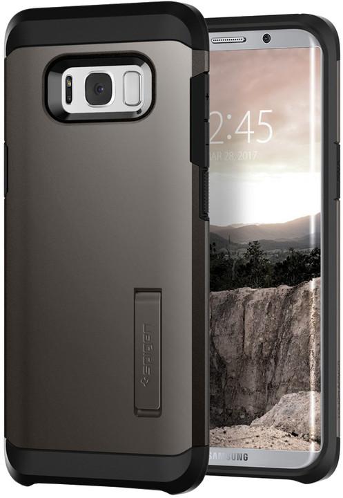Spigen Tough Armor pro Samsung Galaxy S8+, grunmetal