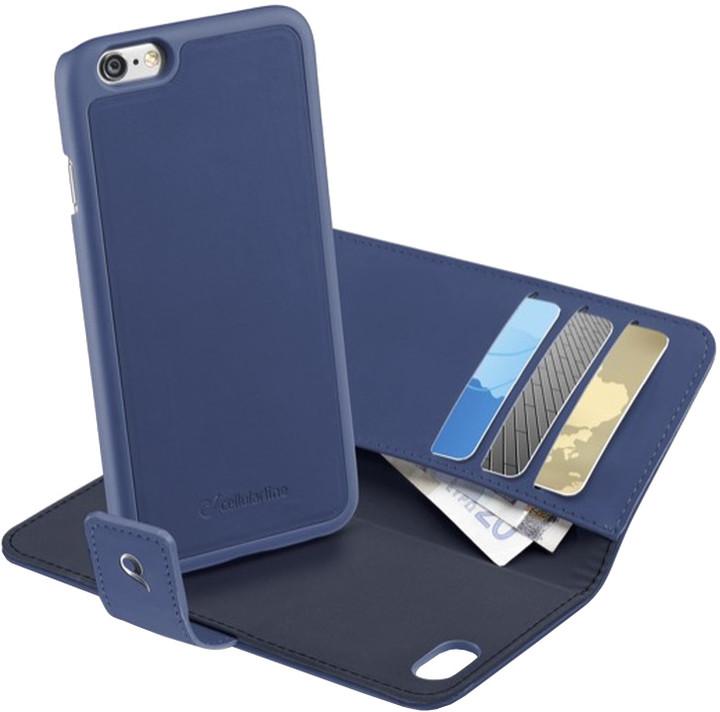 """CellularLine pouzdro COMBO 2v1, odnímatelný zadní kryt, pro Apple iPhone 6, 4,7"""", modrá"""