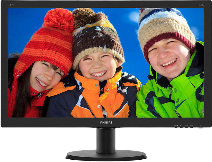 Philips 240V5QDAB - LED monitor 24""